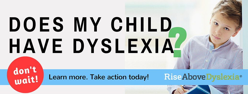 Does my child have dyslexia